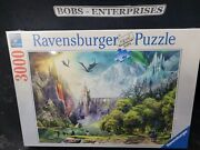Ravensburger16462 Reign Of Dragons 3000 Piece Puzzle For Adults - Brand New P-23