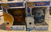 Funky Pop A Year Without A Santa Claus Set Heat Miser And Snow Miser Figure