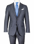 Caruso Suit In Slate Gray From Super 130and039s Wool