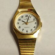 Waltham Japan Movement Bracelet Band Womens Watch With New Battery