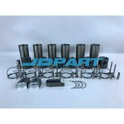 New 1006 Cylinder Liner Kit With Bearing Set For Perkins Diesel Engines