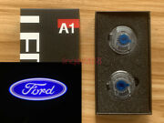 2x Hd Logo Side Mirror Laser Led Courtesy Shadow Light For Ford Explorer Fusion