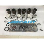 New 6d14 Overhaul Kit With Gasket Set For Mitsubishi Diesel Engines