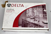 Delta 198-ss Michael Graves Stainless Steel Bar Prep Faucet Single Handle New