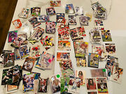 Football Lot Of 200 Cards Rookie Card Hof New And Old Hof Players Rc Inserts