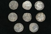 8 Genuine Ancient Islamic Silver Umayyad Dinar Coins Ancient Collectable Coins