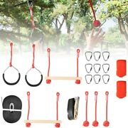 Kid Rope Obstacle Training Climbing Course Warrior Junior Fitness Equipments New