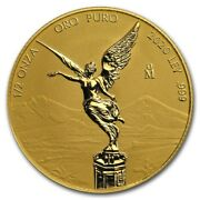 Libertad Mexico 2020 1/2 Oz Reverse Proof Gold Coin In Capsule Mintage Of 250