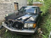 1989 Mercedes-benz 560 Sel Parts Car Rolling Chassis - No Engine Or Transmission