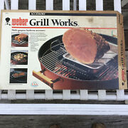 Vtg Nos Oem Weber Grill Works Gas Grill / Kettle Barbecue Accessory 9000 New