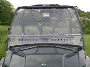 Arctic Cat Prowler 2010-14 Lexan Windshield With Loop Clamps And Vents