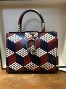 New Never Usedlimited Edition Dionysus Cubic Python Handle Bag With Tag