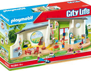 Playmobil City Life - Rainbow Daycare 70280 For Kids 4 Yrs Old And Up