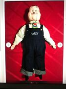 Oliver Hardy 24 Ventriloquist Dummy Doll Larry Harmon Pictures