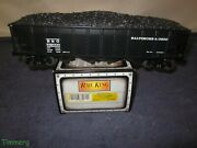 Mth 20-1005b O Die-cast Bando Baltimore And Ohio 4-bay Hopper W/load From 707w Set