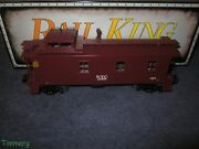 Mth 20-1005d O Die-cast N.y.c. New York Central Semi-scale Caboose From 707w Set