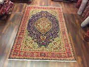 """S.antique Genuine Hand Knotted Vintage Classic Area Rug Carpet 6'8""""x10',2828"""