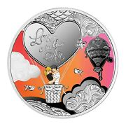 Love Is In The Air – 2021 Pure Silver Proof Coin – Mint Of Poland – Cameroon