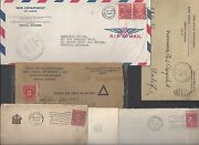 Us 1916 20s Coll 7 Official Covers War Dept New Jersey Governor Office With