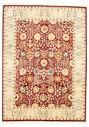 Vintage Hand-knotted Carpet 9'0 X 12'4 Traditional Oriental Wool Area Rug