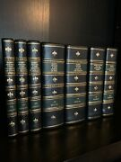 Harry Potter Leather Bound Oxford Set Andndash By J.k. Rowling - Deluxe Rebinding