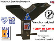 Motorbike Security Ground Anchor Sold Secure Diamond App Insurance Discounts
