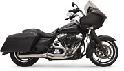 Bassani Long Road Rage Iii Stainless 2-into-1 Exhaust System 1f32ss