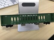 N Scale Red Caboose Centerbeam The Bayline Asab 2473