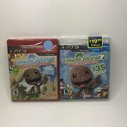 Factory Sealed New Little Big Planet 1 And 2 Bundle Lot Playstation 3 Ps3 2
