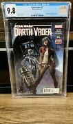 Darth Vader 3 Cgc 9.8 1st Appearance Of Doctor Chelli Aphra Star Wars Disney Nm