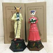 Studio Ghibli Whisper Of The Heart Music Box Baron And Luise Set Official New Fast