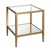 Hennandamphart End Table Gold