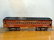Nice Mth Tinplate Traditions 3245 Olympian Coach Car In Box Standard Gauge