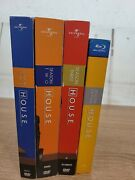 House M.d. Series/set/good Condition/ Season Dvd 1,2,3 And Blu-ray 7