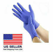 Nitrile Gloves - Latex Free And Powder Free Blue 10 To 1000 Count