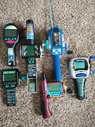 Lot 6 Vintage Electronic Fishing Games All Personally Purchased Little Use