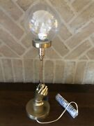 Pottery Barn Harry Potter Fantastic Beast Magical Spells Hand Holding Table Lamp