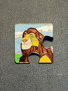 Character Connection Puzzle Mystery The Lion King Mufasa Le 900 Disney Pin 2014