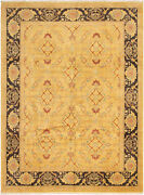 Vintage Tribal Area Rug 9and0393 X 12and0395 Authentic Oushak Hand Knotted Wool Carpet