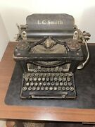 Vintage C. 1920s Lc Smith And Corona Typewriter Llc. 8-10in