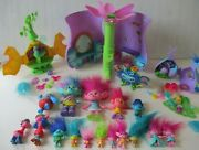 Trolls Playsets Accessories Figures Toy Lot