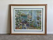 """""""wild Roses"""" John Powell Hand Signed And Numbered Serigraph"""