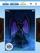 2021 Topps Disney Collect Bold And Beastly Award Lot Of 4andnbsp W/super Award Chernabog