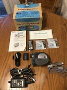 Sony Handycam Mini Dvd Recorder W/ Charger Tapes Remote Cables Dcr-dvd301