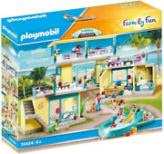 Playmobil Family Fun - Playmo Beach Hotel 70434 For Kids 4 Years Old And Up