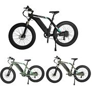 Electric Bike Beach City Bicycle 7 Speeds 48v750w13ah Color Hd Lcd W/ Lock Opt