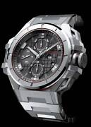 Snyper Ironclad Chronograph Black Dial Stainless Steel Case And Band 50.200.0m