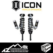 Icon Extended Travel Rr Front Coilover Shock Kit For And03907-and03909 Toyota Fj Cruiser