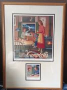 Vintage Robert Gunn A Warm Hug From Campbell's, Campbell's Soup Signed Prints
