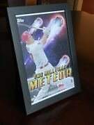 Mike Trout Auto 2020 Topps Certified Very Rare Insert Poster. Millville Meteor